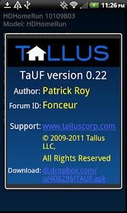 TaUF (UPnP Finder)- screenshot thumbnail