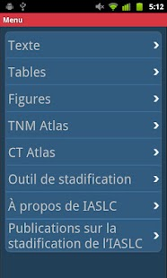 IASLC Staging Atlas - French- screenshot thumbnail