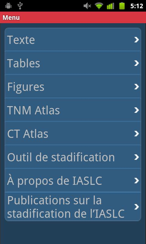 IASLC Staging Atlas - French - screenshot