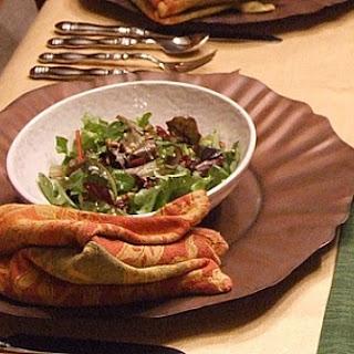 Cranberry Spinach Salad w/ Gorgonzola
