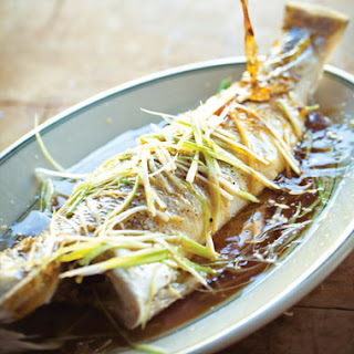 Steamed Whole Fish with Ginger, Scallions, and Soy