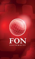 Screenshot of FON University