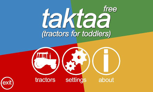 Tractors for toddlers - free