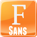 Free Galaxy FlipFont® Fonts icon