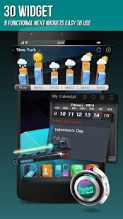 Next Launcher 3D Shell Lite Screenshot