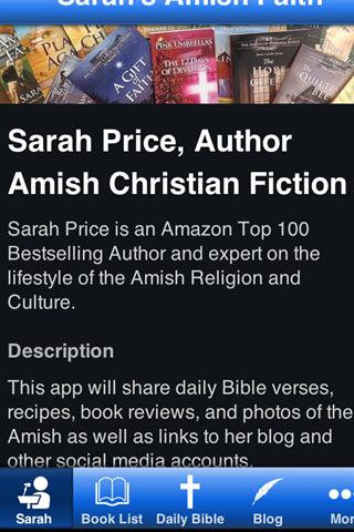 Sarah's Amish App