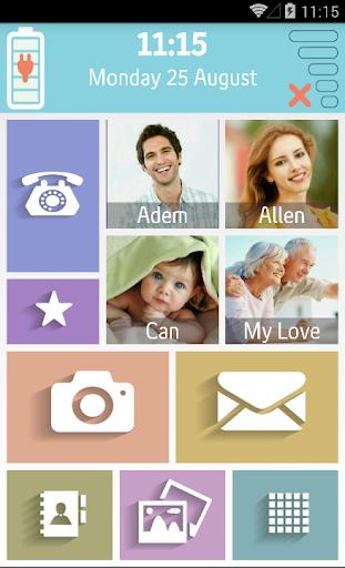 【免費個人化App】GrandPhone Senior Launcher-APP點子
