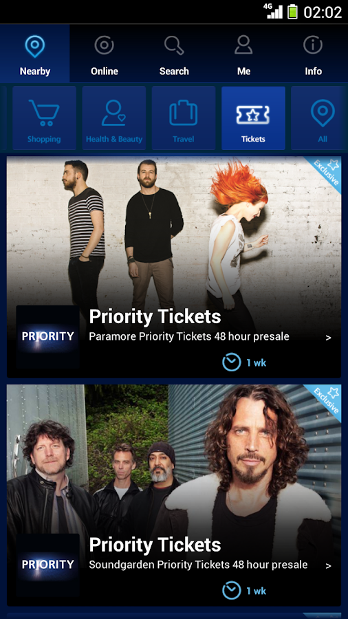 O2 Priority Moments - screenshot