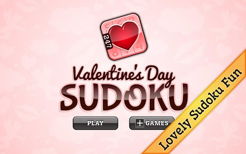 Valentine's Day Sudoku - screenshot thumbnail