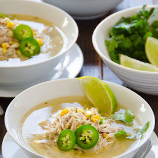 Lime Quinoa and Chicken Soup.
