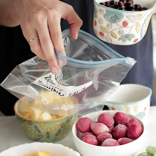 5 Freezer Smoothie Pack Recipes.