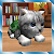 Cute Pocket Cat 3D file APK Free for PC, smart TV Download