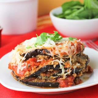 Healthy Eggplant Parmesan Without Breadcrumbs Recipes.