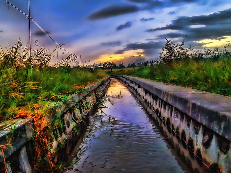 Got by Randi Pratama M - Instagram & Mobile Android ( water, banyuwangi, reflection, indonesia, river,  )