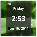 Simple Digital Clock widget logo
