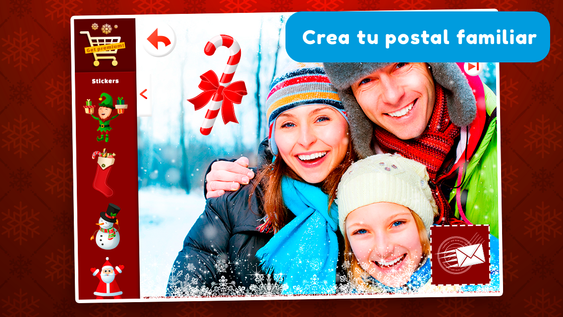 postales de navidad 2017 captura de pantalla - Postales Navideas Personalizadas