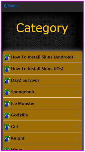Skins For MC PE Game