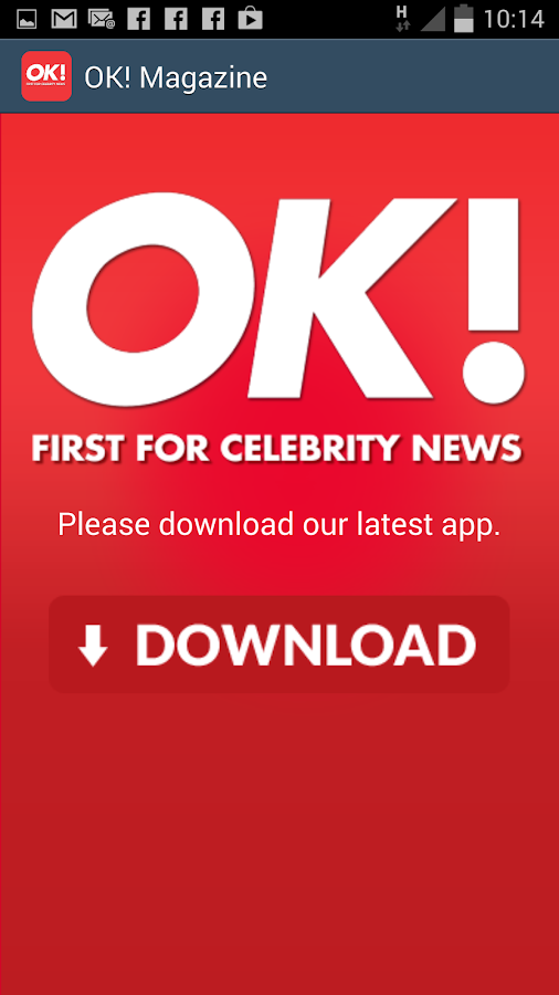 OK! Magazine Updater- screenshot