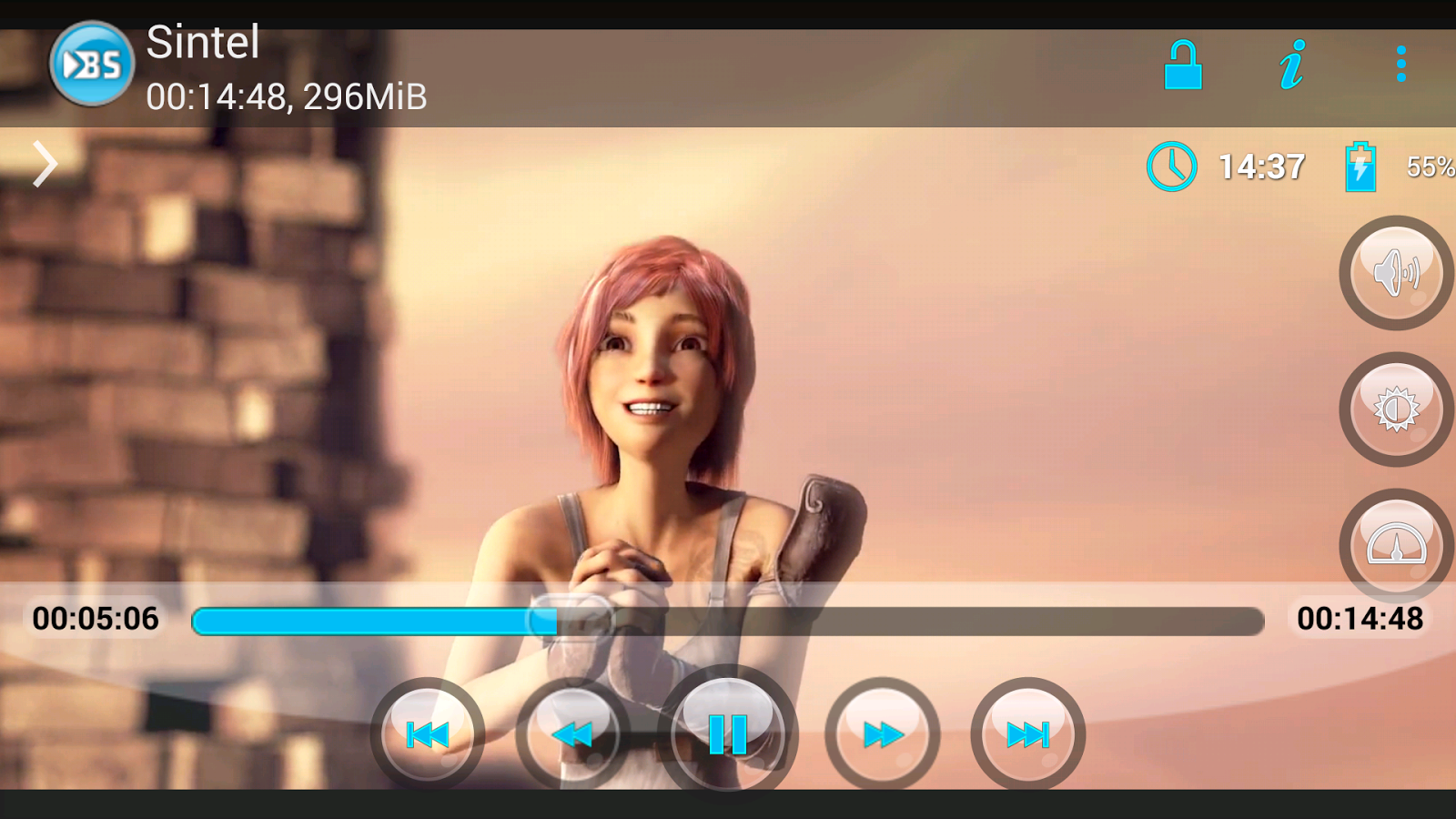 BSPlayer FREE- screenshot