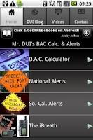 Screenshot of Mr DUI