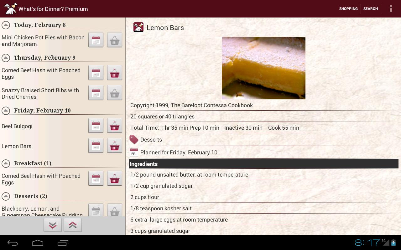 What's for Dinner? Recipes- screenshot