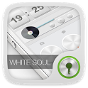 White Soul GO Locker Theme icon