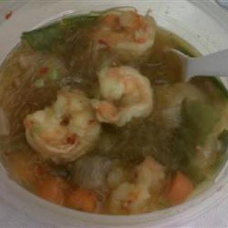 Oriental Shrimp Noodle Soup.