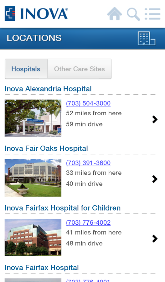 Inova - screenshot