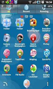 Ballon Go Launcher Ex Theme - screenshot thumbnail