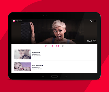 Vevo - Musik Player und Musikvideos Screenshot