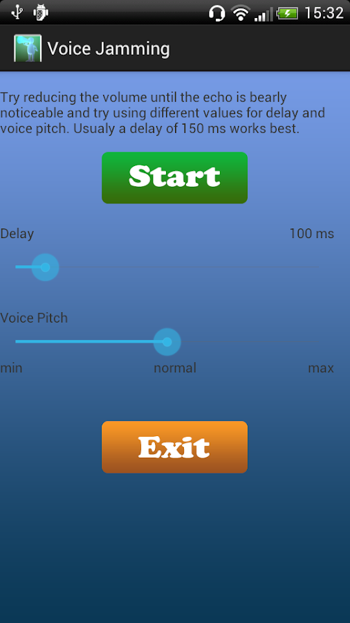 Voice Jammer- screenshot
