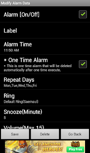 Alarm4Me- screenshot thumbnail
