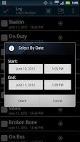 Screenshot of EMS Pad