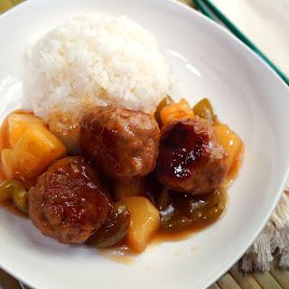Sweet & Sour Pork Meatballs