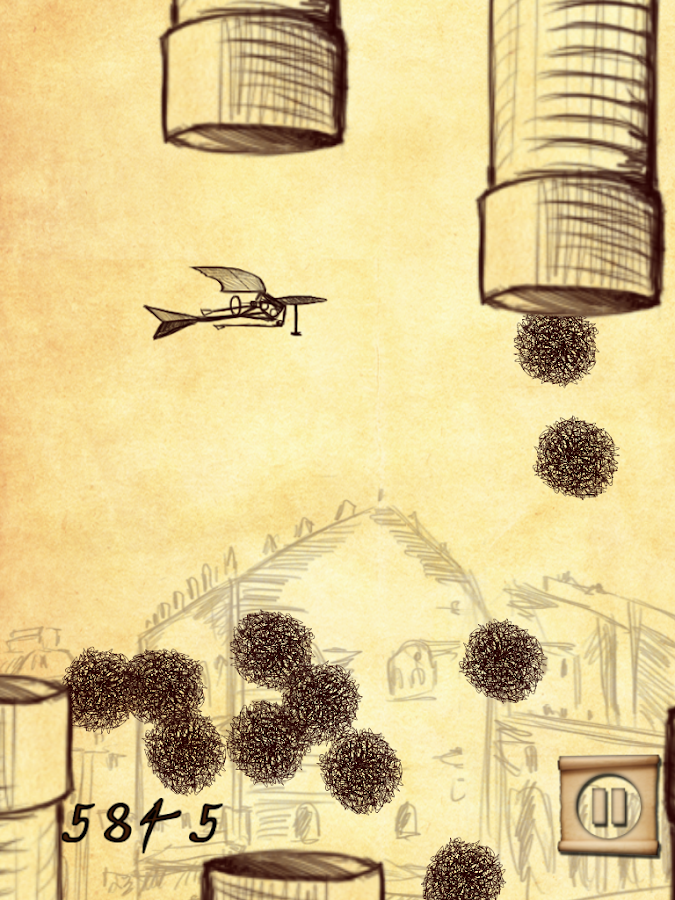 DaVinci Age Doodle Crash- screenshot