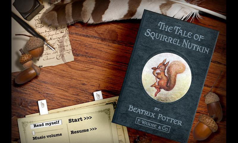 PopOut!Tale of Squirrel Nutkin - screenshot