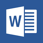 Microsoft Word: Write, Edit & Share Docs on the Go Icon