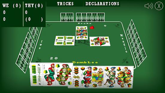 Belot Kartenspiel