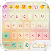 Candy Color Emoji Keyboard