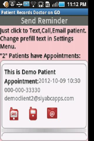 Patient Records Doctor ON GO-T - screenshot