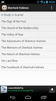 Screenshot of Canon of Sherlock Holmes