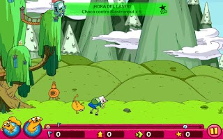 Screenshot of Hora de aventura Finn Saltarín