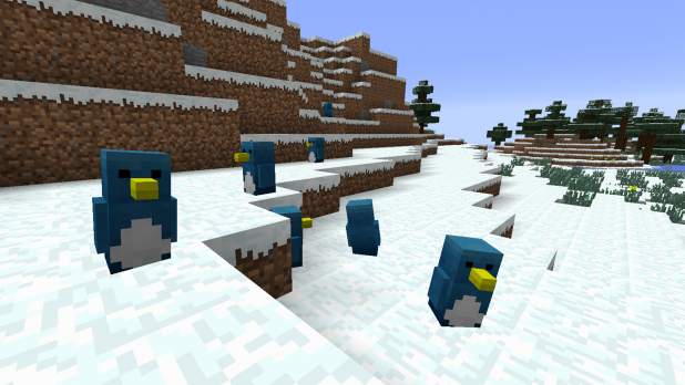 Minecraft Penguin Mod Penguin Mod Minecraft pe