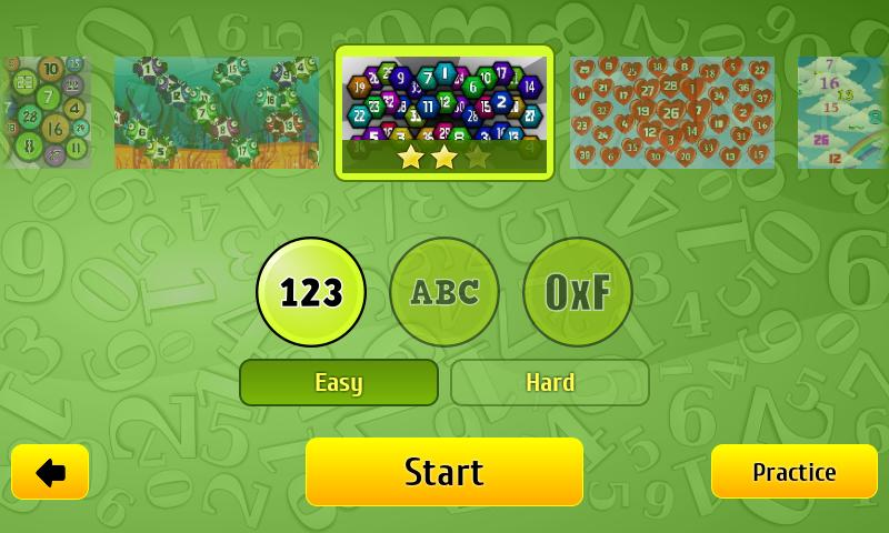 Numbers Fisher - touch fun- screenshot