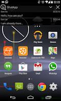 Screenshot of ShutApp