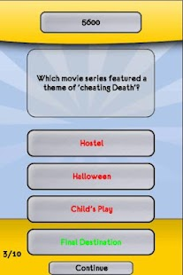 Horror Movie Trivia Quiz