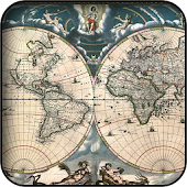 Old World Map Wallpapers