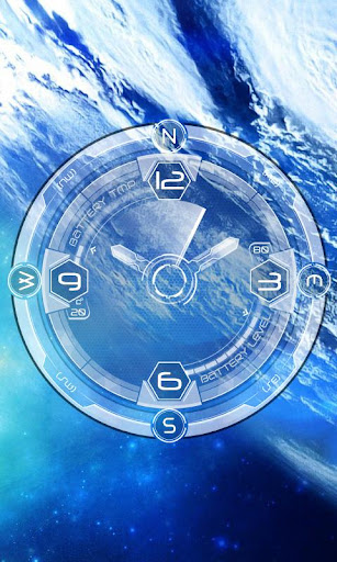 Galaxy Compass Live Wallpaper