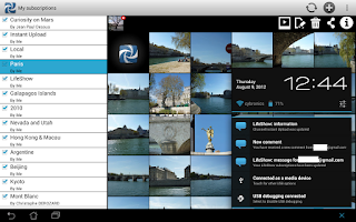 Screenshot of LifeShow Photo Player