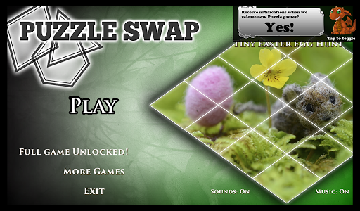 PuzzleSwap - Tiny Easter Hunt